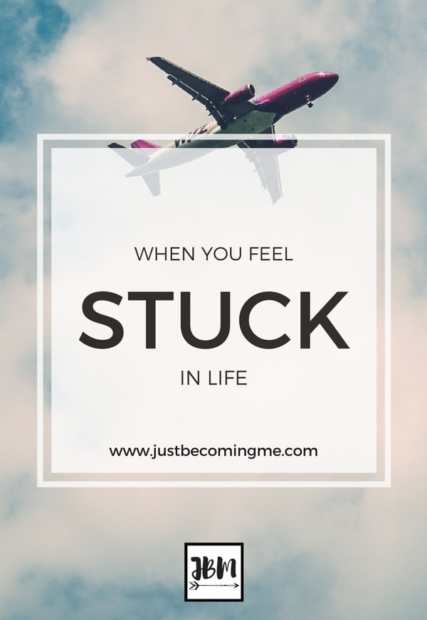 Sometimes in life we feel stuck like we're in a holding pattern. It can be disheartening, but it can also be life changing.