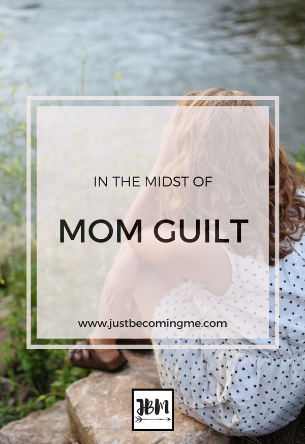 I've been struggling with mom guilt lately and I know other moms do too.