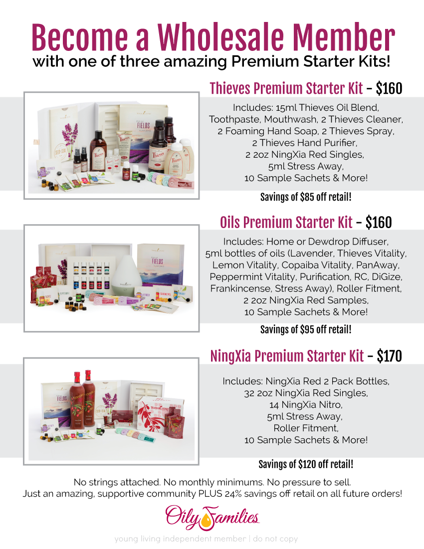 My Journey Just Becoming Me Premium Starter Kit Young Living