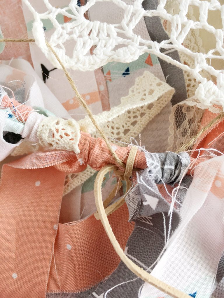 DIY Dreamcatcher Baby Mobile