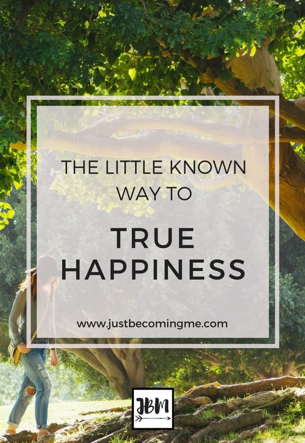 We all want to be happy, right? Find out the little known way to true happiness so you can live your happiest life.