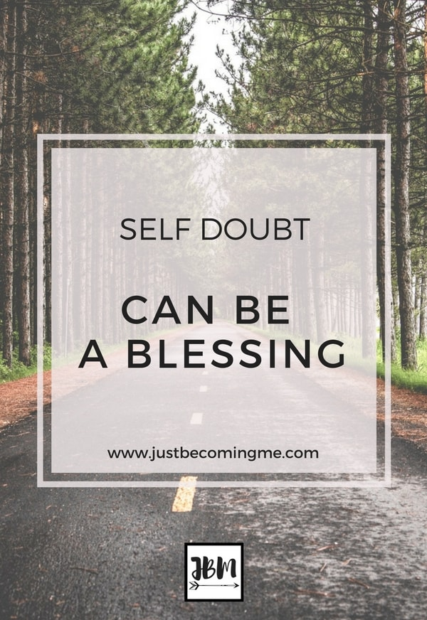 Sometimes self doubt comes creeping into our lives and it can be hard to shake. It's important to not only confront the self doubt, but overcome it.